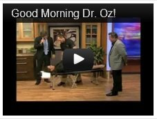 a picture of Dr. Oz, Dr. Gubernick, and The Joint CEO