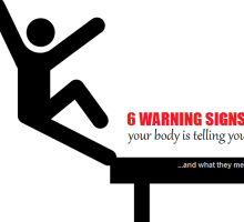 6 warning signs your body is telling you